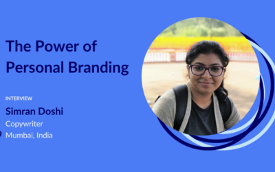Simran Doshi, The Power of Personal Branding