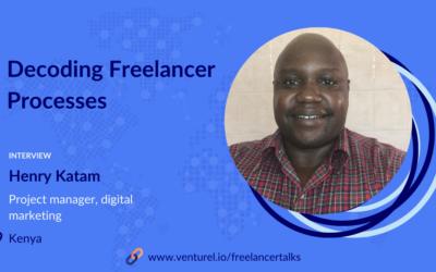 Henry Katam, Decoding Freelancer Processes